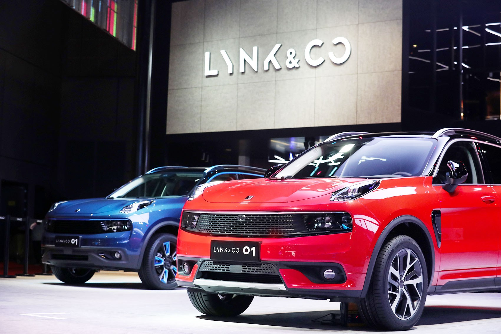 new lynk co 01 production car and 03 concept at 2017 shanghai motor show revealed in pictures. Black Bedroom Furniture Sets. Home Design Ideas