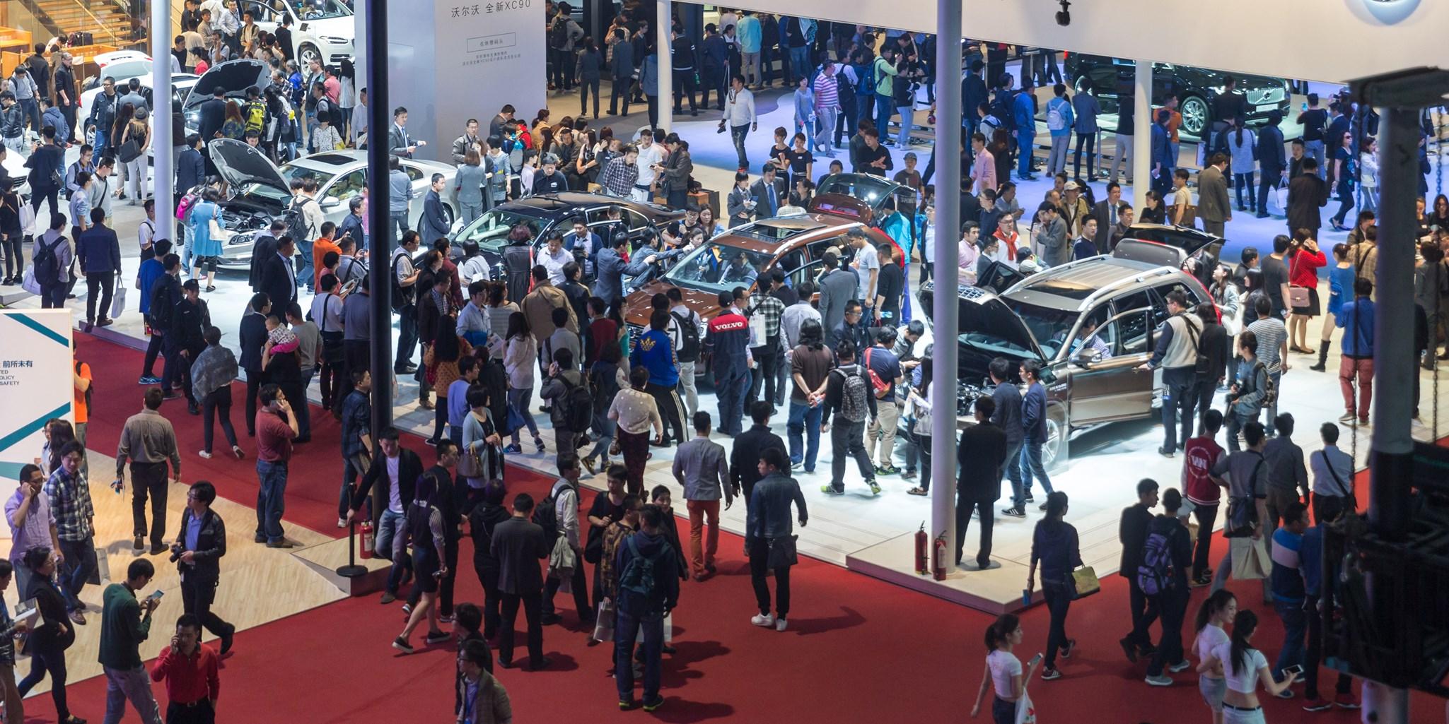 Shanghai Motor Show Preview AZ Of All The New Cars CAR Magazine - Car show carpet