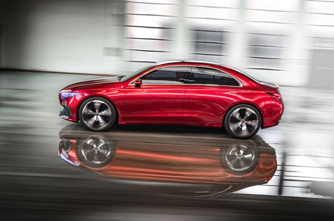The Mercedes-Benz Concept A Sedan