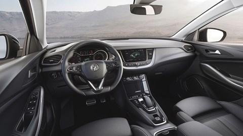 Vauxhall Grandland X interior