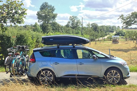 Renault Grand Scenic with Thule bike rack: specs, prices and long-term test review by CAR magazine