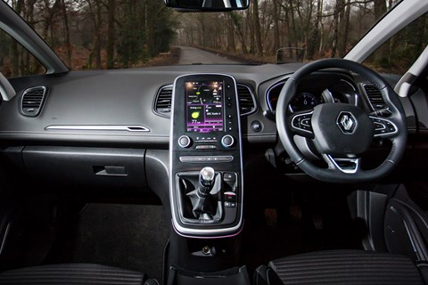 Renault Grand Scenic dashboard 2017