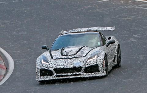 Yeni Corvette ZR1, Nurburgring'de konuştu