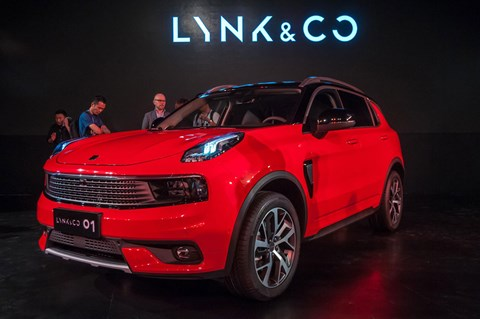 The Lynk & Co 01: an SUV twinned with the 2018 Volvo XC40
