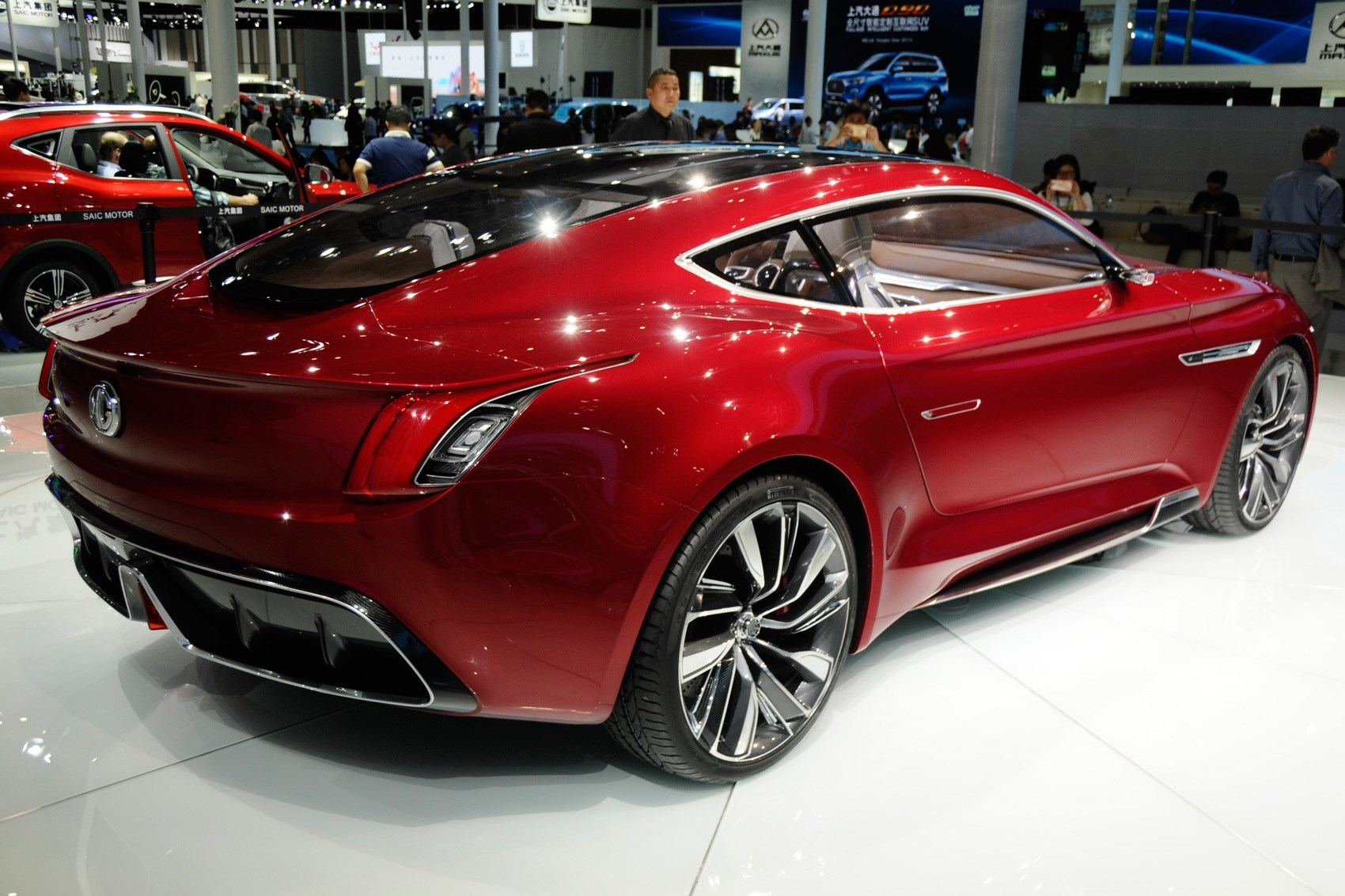 All-electric MG E-motion concept is supercar for ...