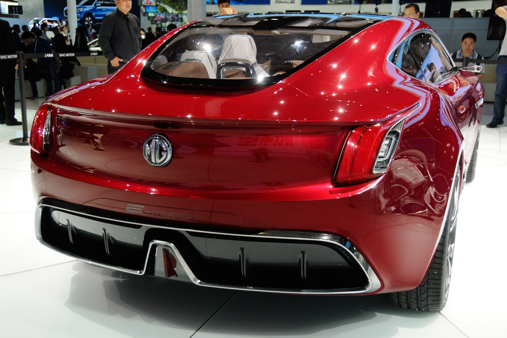 All Electric Mg E Motion Concept Is Supercar For Millennials By Car Magazine