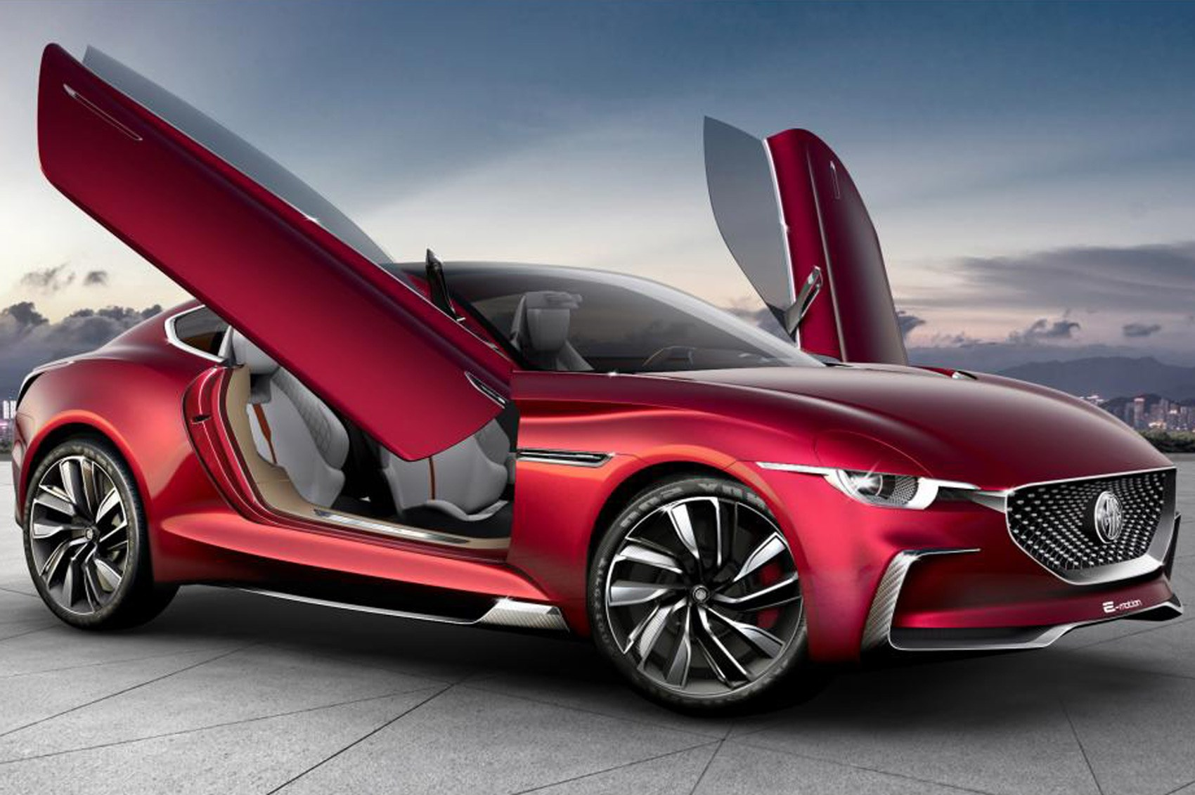 All-electric MG E-motion concept is supercar for millennials by CAR Magazine