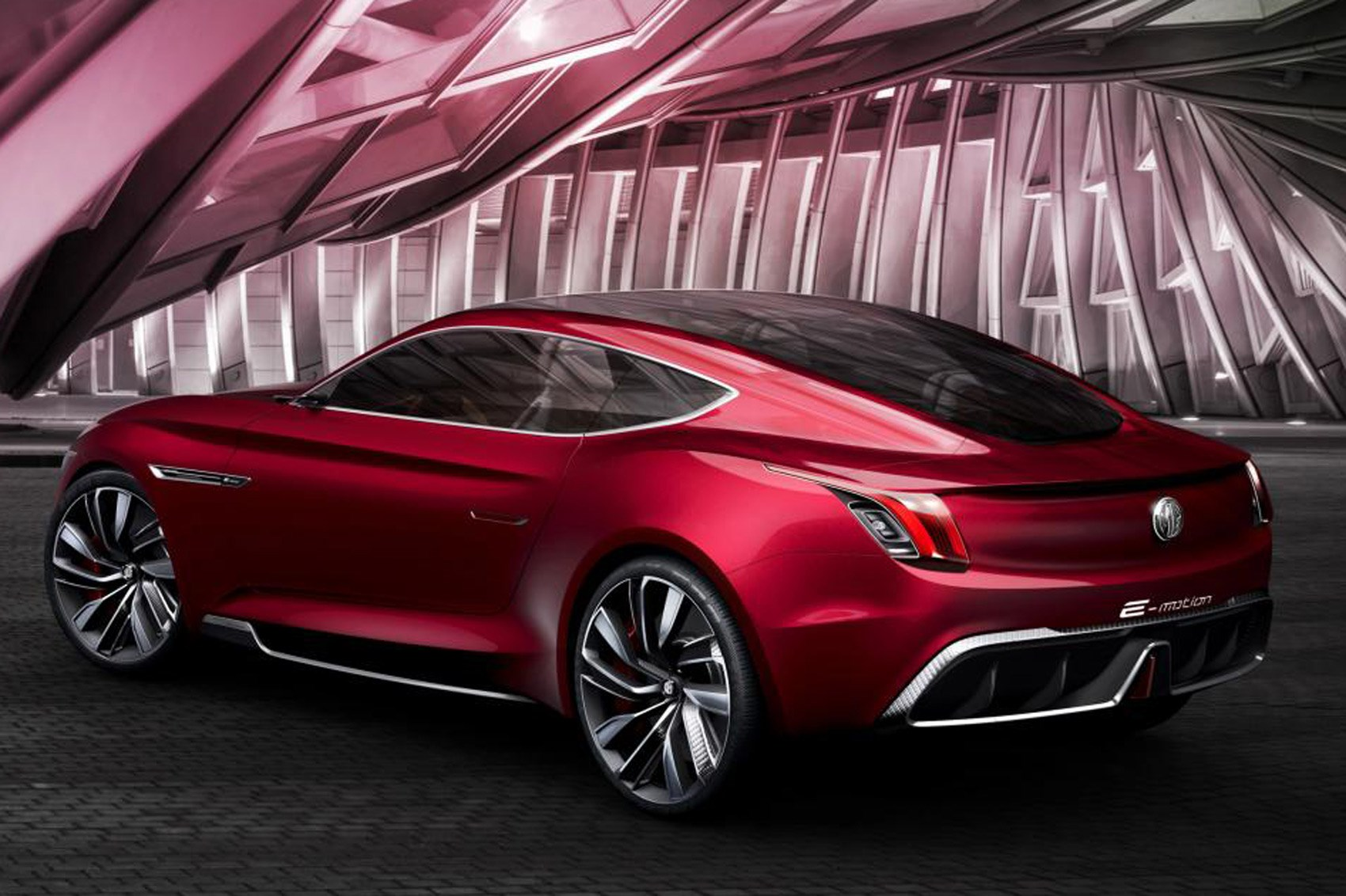 All Electric Mg E Motion Concept Is Supercar For