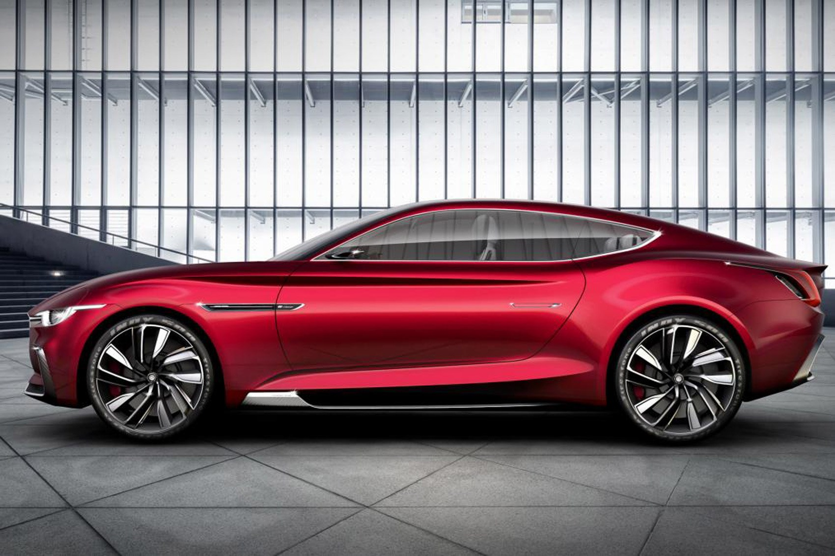 All Electric Mg E Motion Concept Is Supercar For Millennials Car Magazine