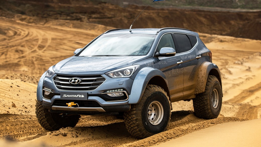 Hyundai Santa Fe Shackleton Endurance 2017 Review