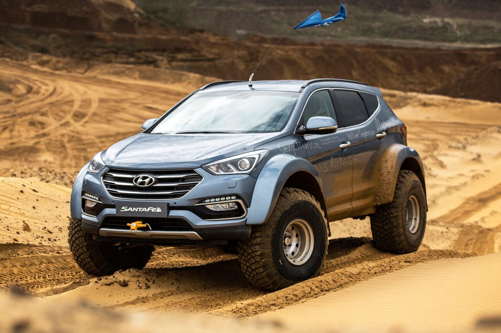 Hyundai Santa Fe Shackleton Endurance 2017 Review