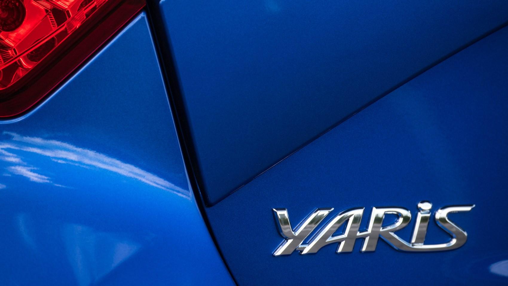 Toyota Yaris UK badge