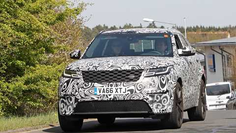 land rover defender 2018 spy shots. delighful defender the new range rover velar svr intended land rover defender 2018 spy shots e