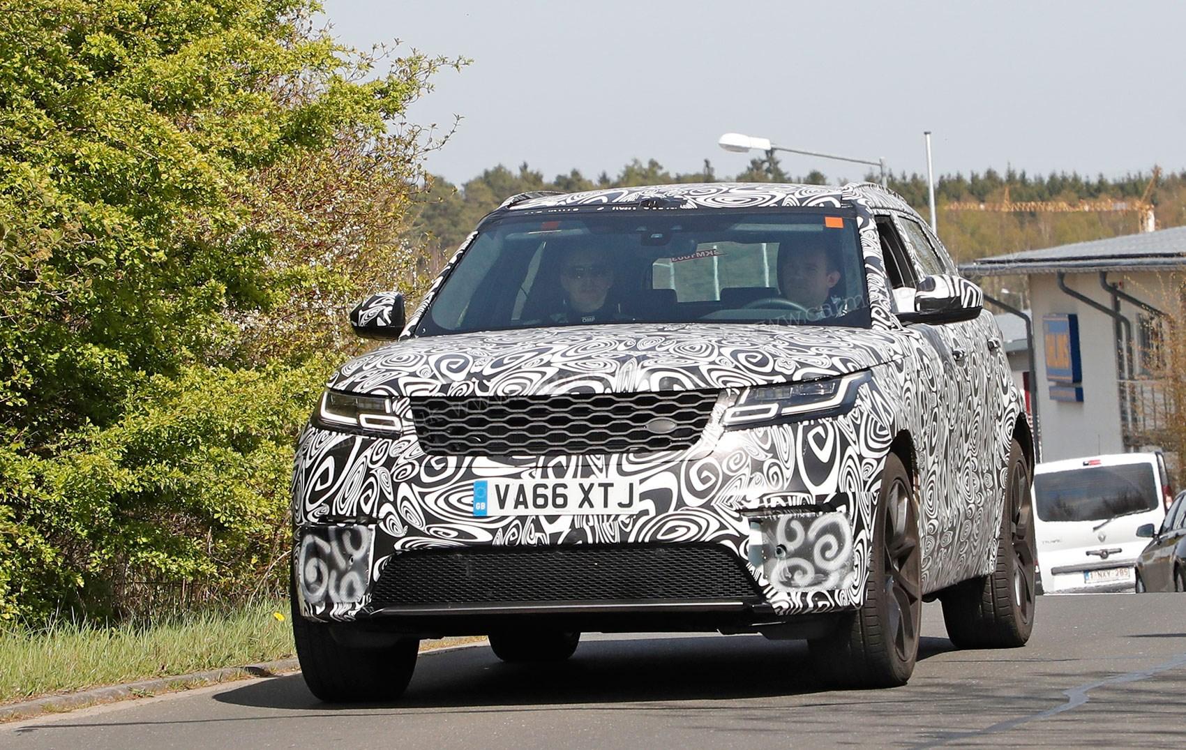 The New Range Rover Velar Svr