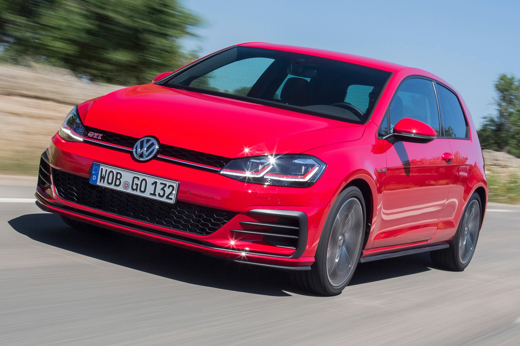 vw golf gti performance pack mk7 facelift 2017 review by car magazine. Black Bedroom Furniture Sets. Home Design Ideas