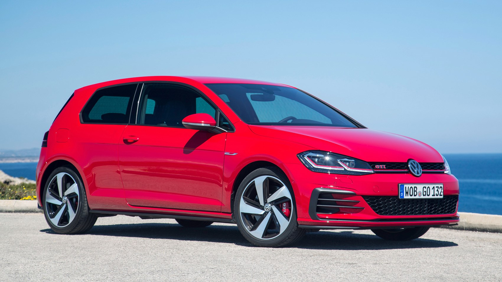 vw golf gti performance pack mk facelift  review car magazine