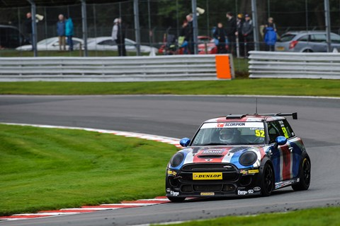 Mini JCW Challenge race car