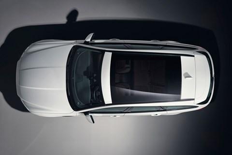 Jaguar XF Sportbrake 2017 overhead teaser