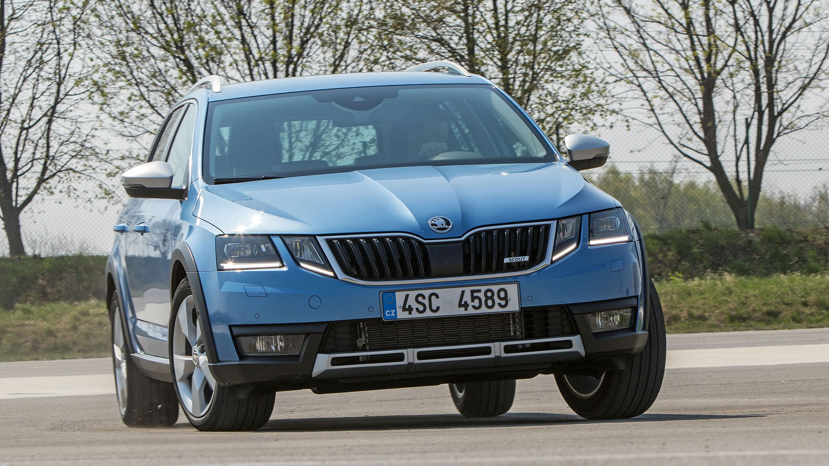 Skoda Octavia Scout - the 2017 facelift