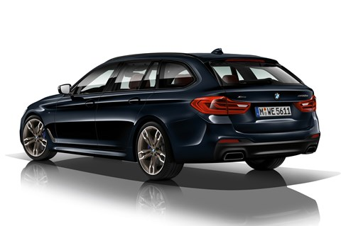 BMW M550d xDrive Touring rear quarter