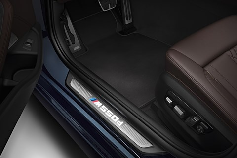 BMW M550d xDrive door sill