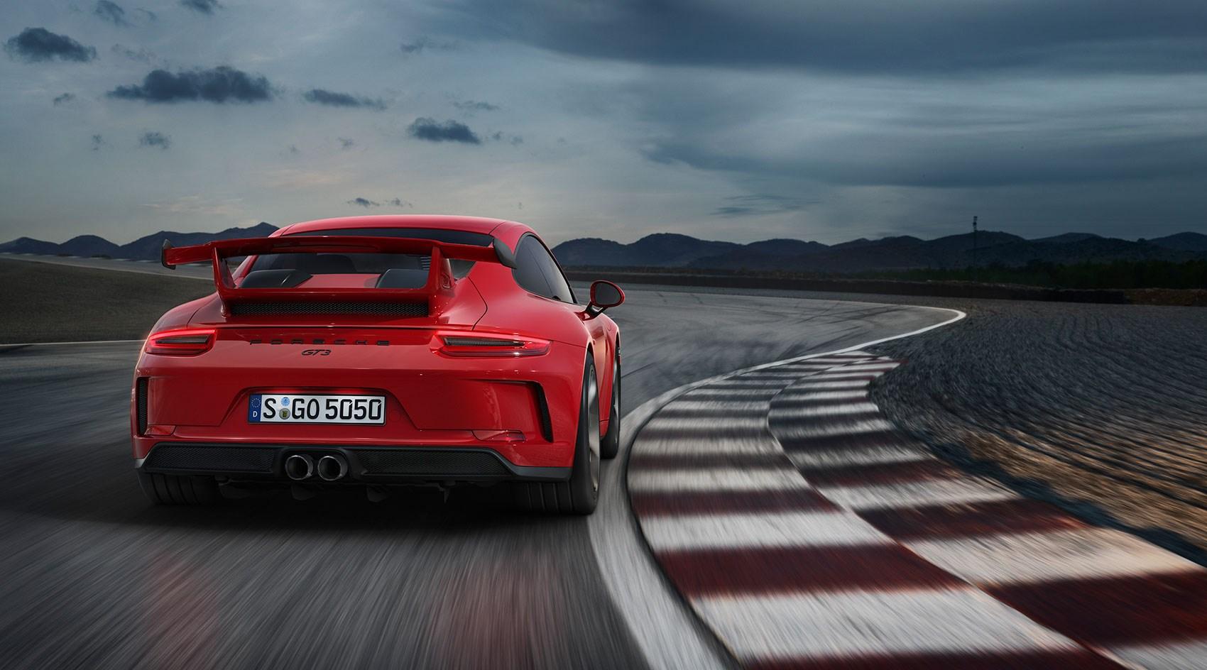2017 Porsche 911 GT3 road test