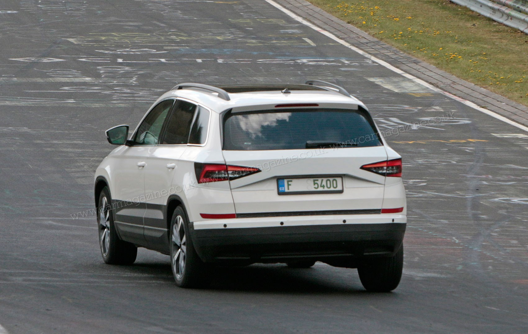 Skoda Karoq mini SUV revealed: spy photos by CAR Magazine