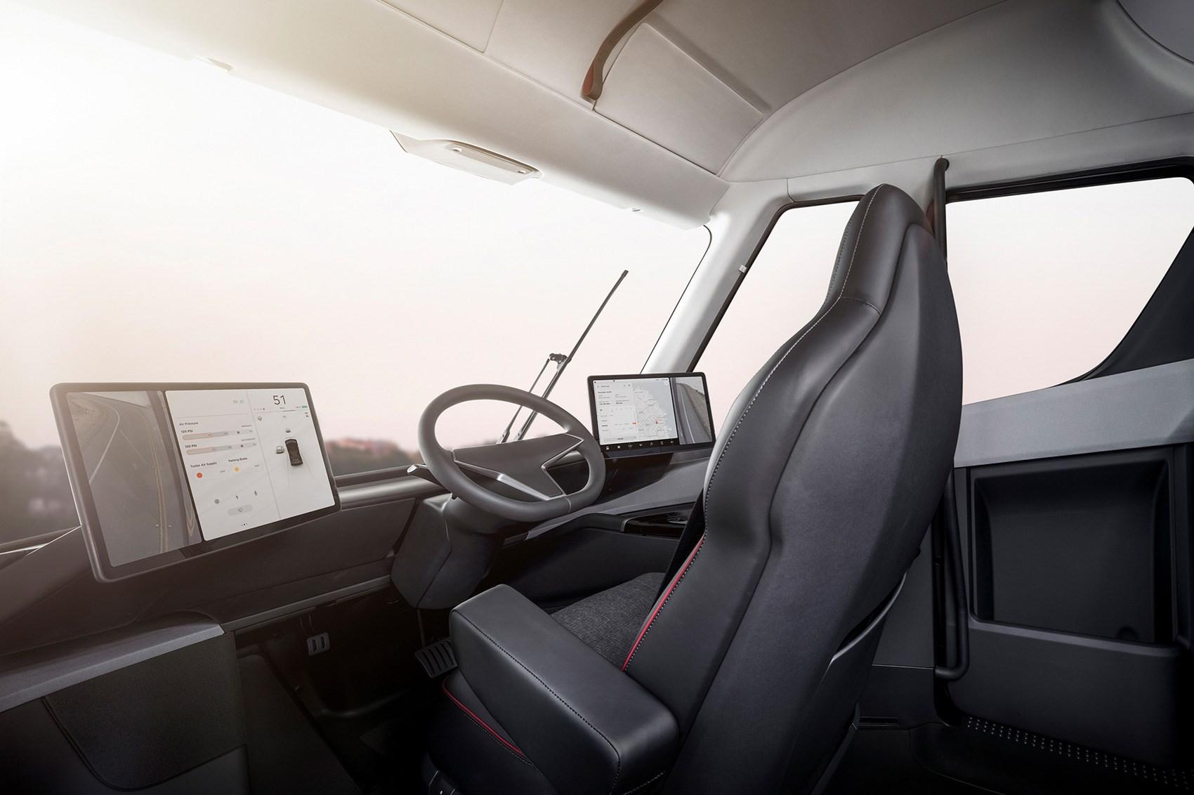 Narrow Car Seat >> Tesla Semi: watch the electric truck burn rubber | CAR Magazine