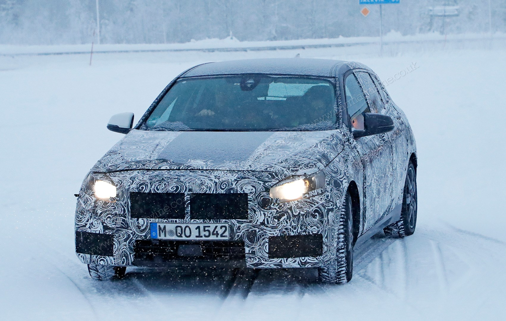 All BMW Models bmw 1 series variants New front-wheel drive BMW 1-series spied winter testing by CAR ...
