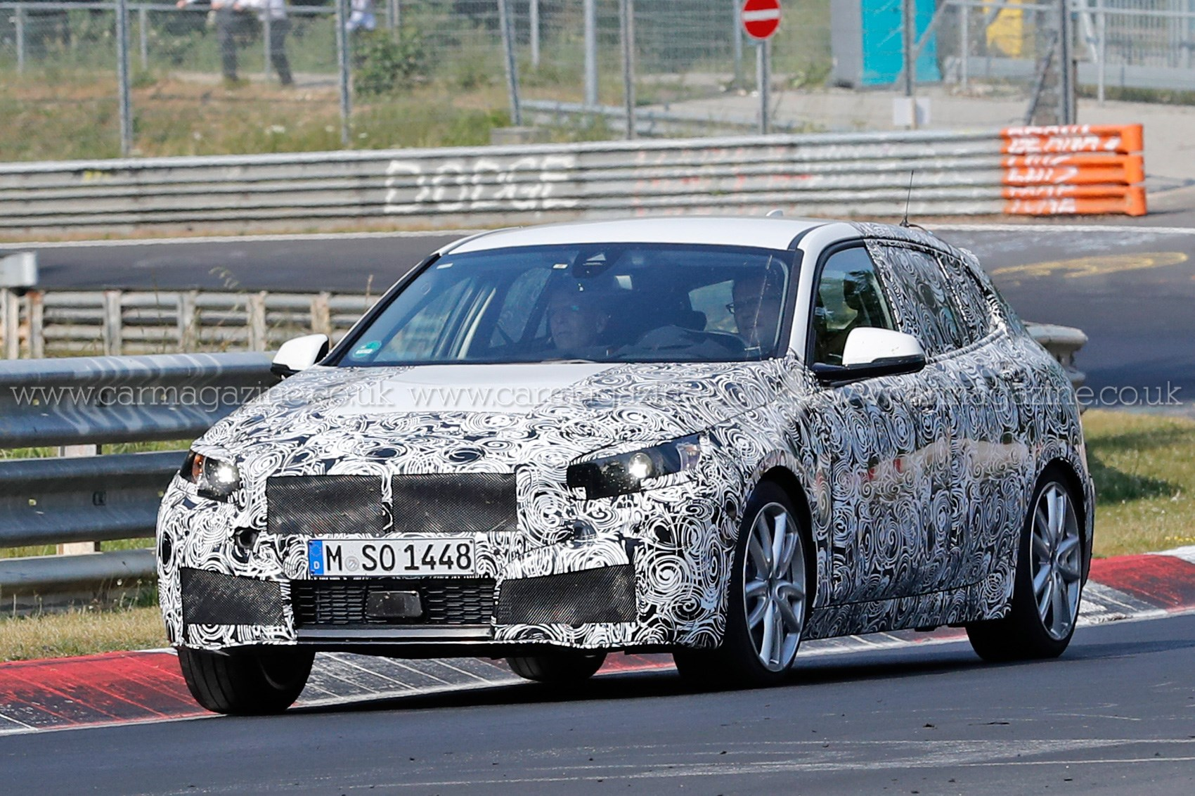 New front wheel drive BMW 1 series spied winter testing by