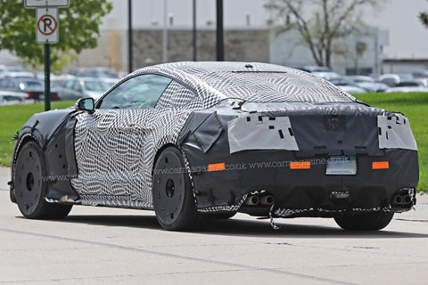 Ford Mustang GT500 spy photos
