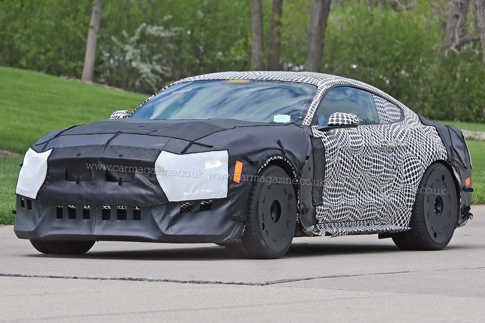 Ford Mustang GT500 (2018): spy shots and first details ...
