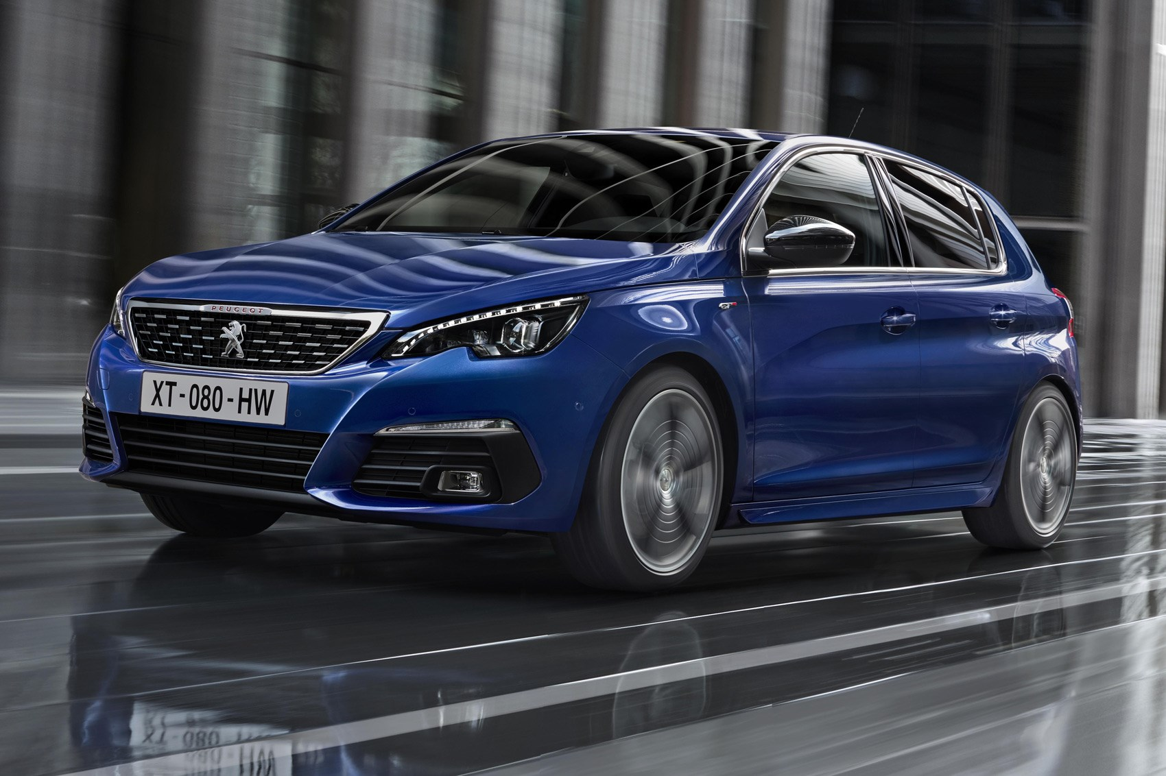 refreshed peugeot 308 hatch ready to pounce by car magazine. Black Bedroom Furniture Sets. Home Design Ideas