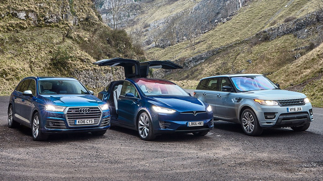 Tesla model x comparison