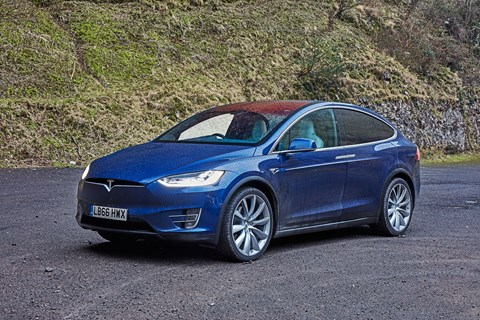 Tesla Model X: photographed for CAR magazine by John Wycherley