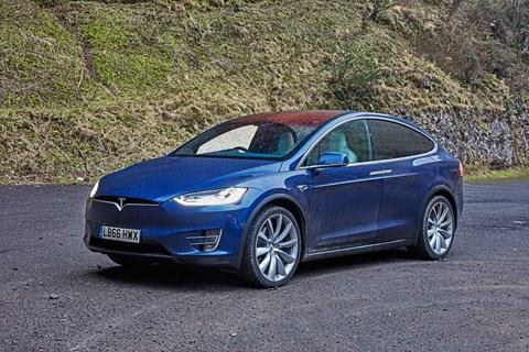 Tesla Model X: photographed for CAR magazine by John Wycherley