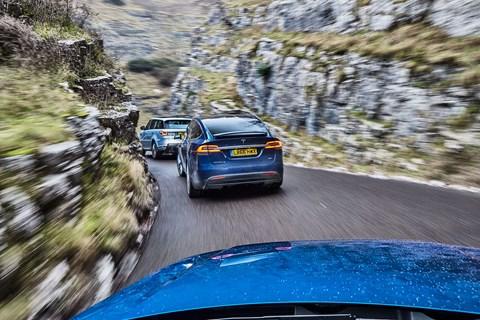 Tesla Model X triple test review: CAR magazine UK decides