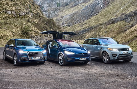 Tesla Model X triple test by CAR magazine