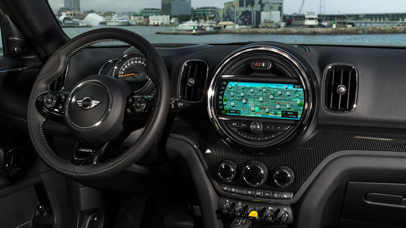 Mini Countryman hybrid 2020 dashboard