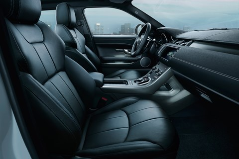 Range Rover Evoque Landmark interior