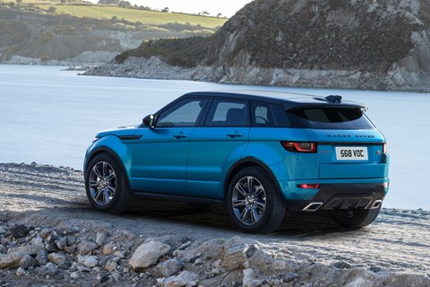 Range Rover Evoque Landmark rear quarter