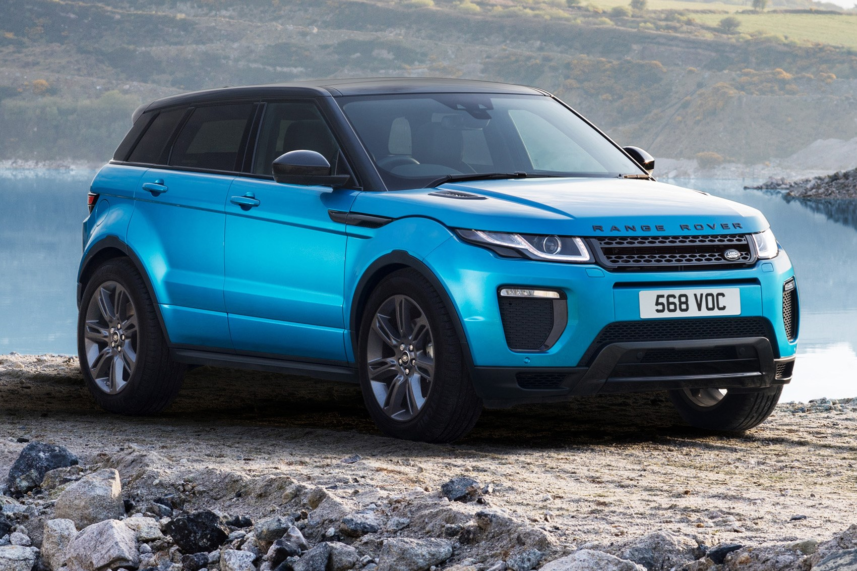 Range Rover Evoque Landmark edition celebrates sales ...