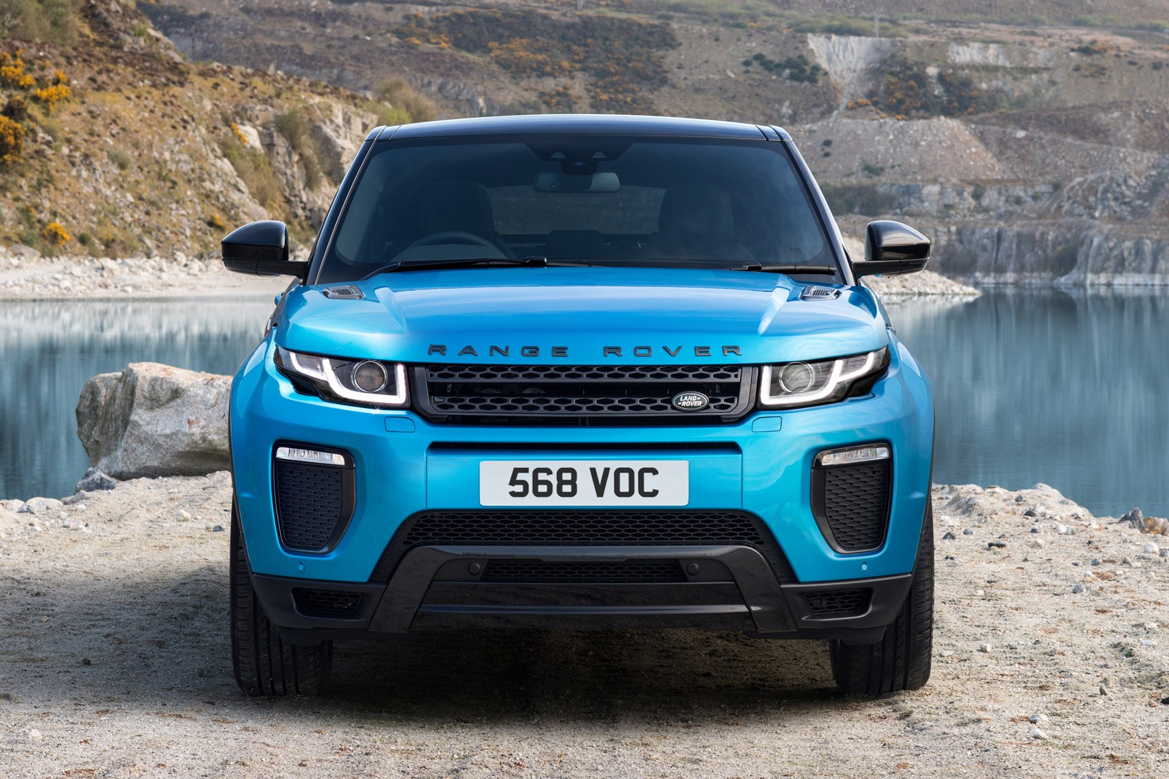 range rover evoque landmark edition celebrates sales success car magazine. Black Bedroom Furniture Sets. Home Design Ideas