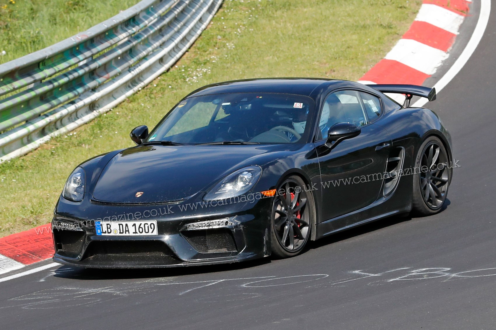 New Porsche Cayman Gt4 Fresh Pictures Of Testing Mule Car Magazine