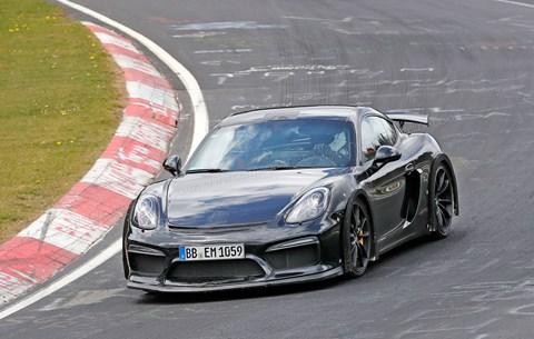 The new Porsche 718 Cayman GT4