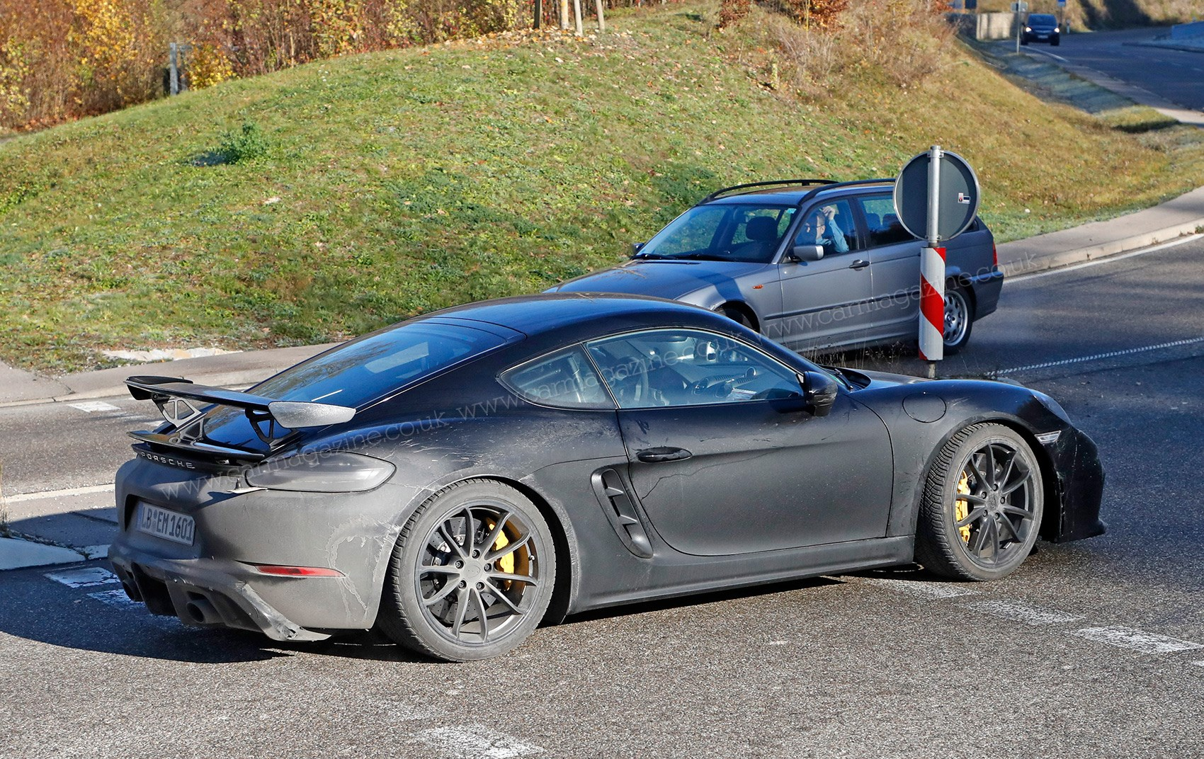 New Porsche Cayman Gt4 Fresh Pictures Of Testing Mule
