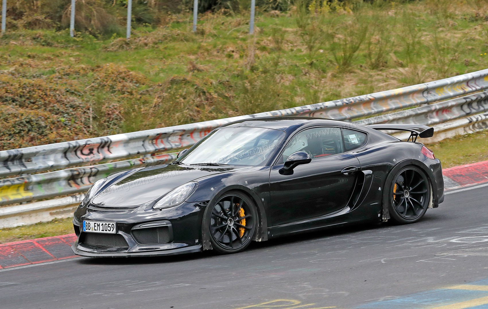 2018 Cayman Gt4 >> Porsche 718 Cayman GT4 spy photos, specs and info by CAR Magazine