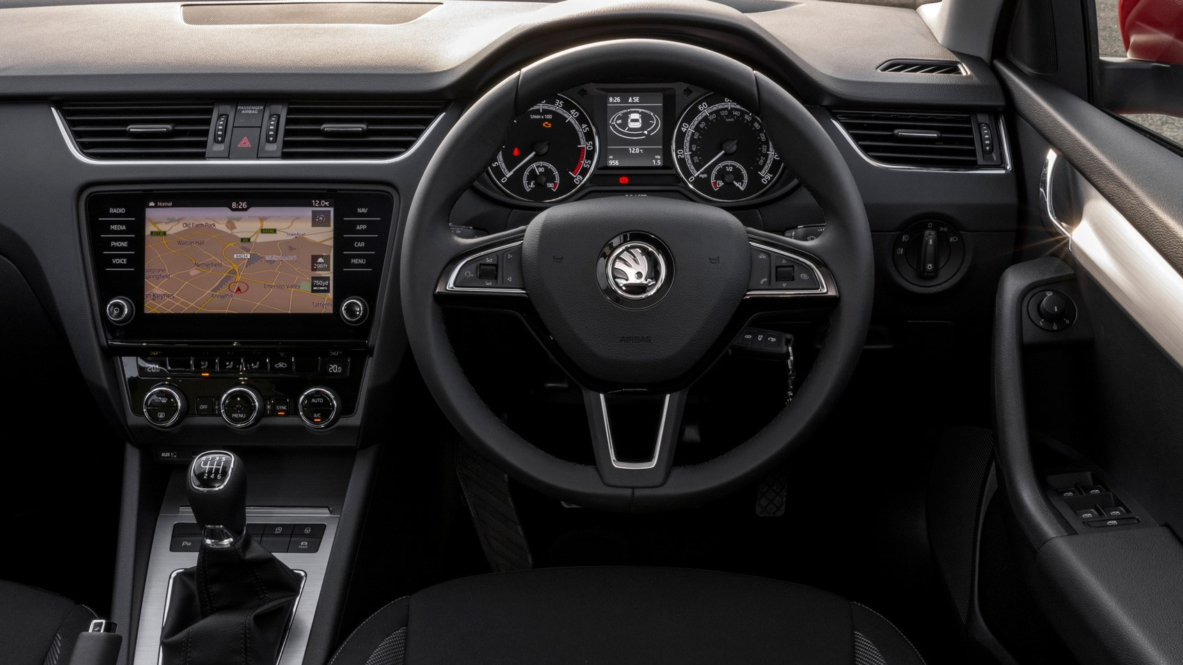 Skoda Octavia 10 Tsi 2017 Review Car Magazine Pick Up 1 3 Engine Diagram Interior