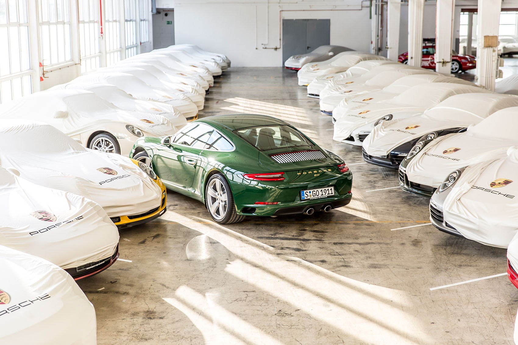 One Millionth Porsche 911 is an Irish Green Carrera S