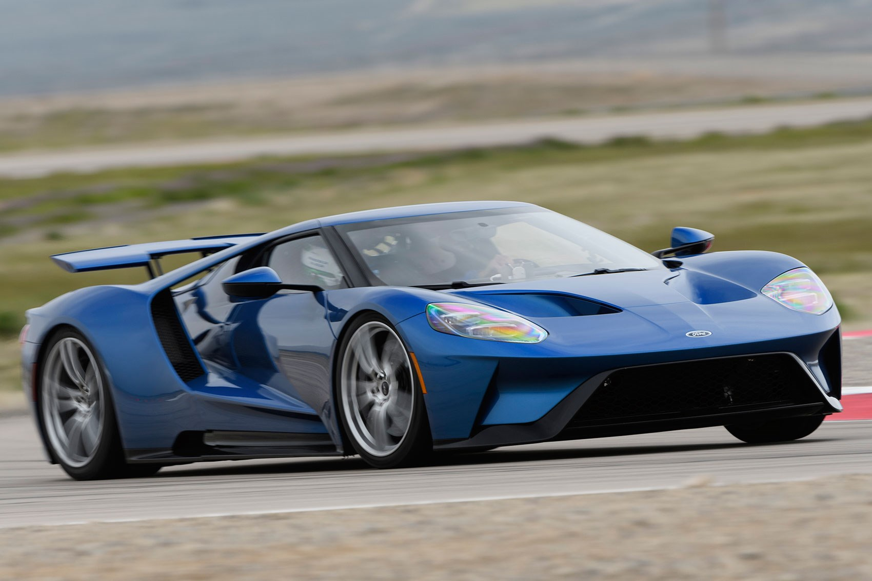 The ford gt is ferociously quick